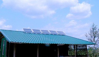 Solar station with installed power capacity 0,5 kW