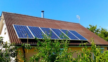 Solar station with installed power capacity 0,6 kW